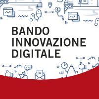 Banner innovazione digitale quadrato