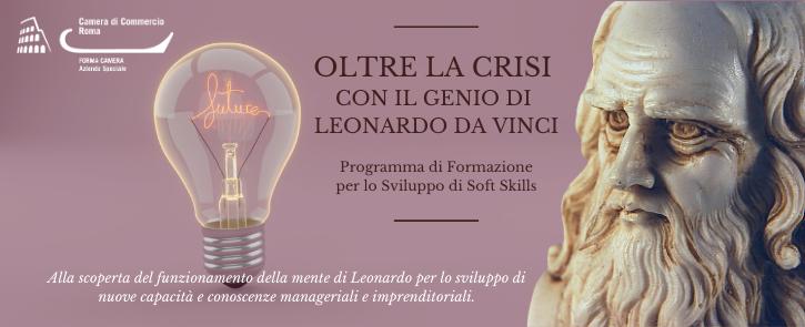 Immagine ciclo di webinar sulla mente di Leonardo da Vinci