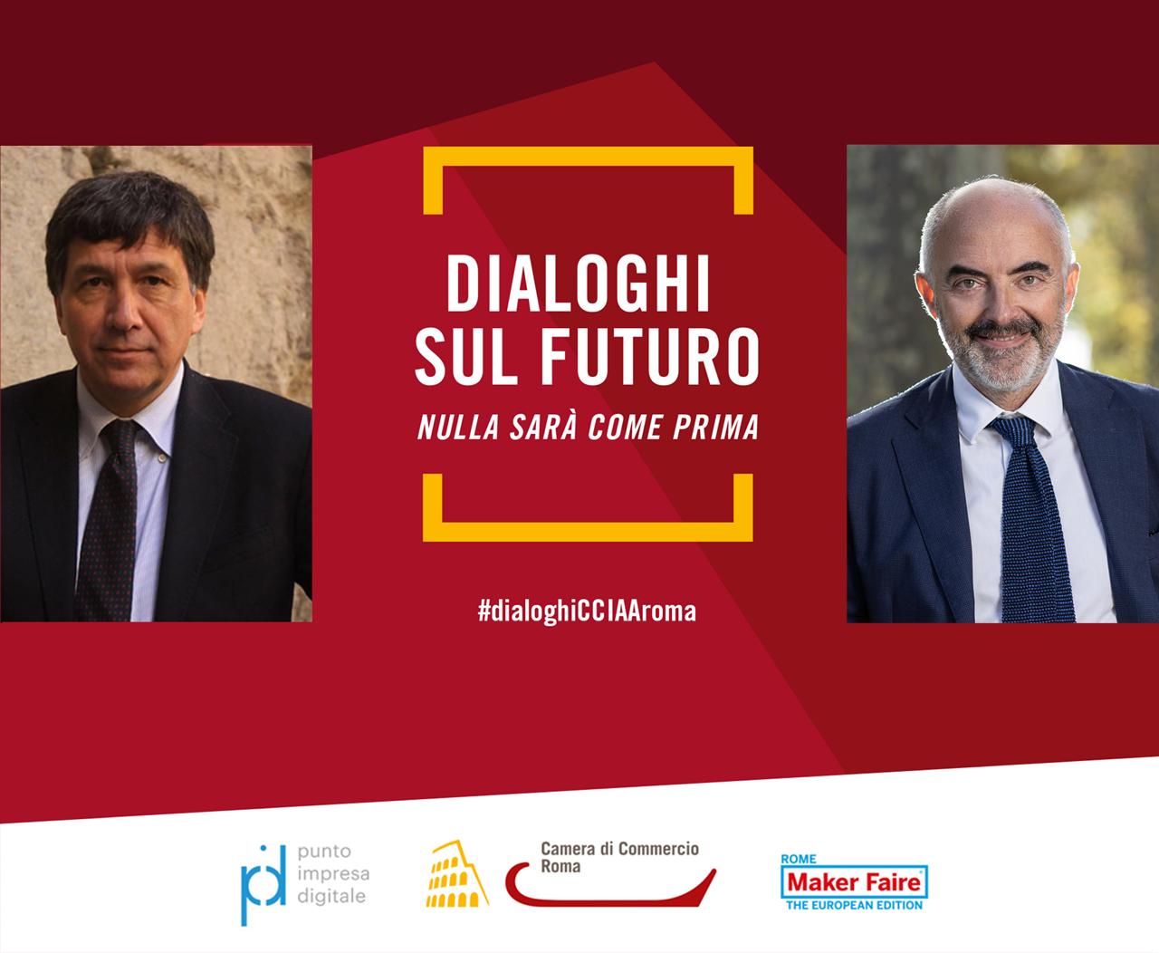 immagine dialogo Lorenzo Tagliavanti e Stefano Micelli