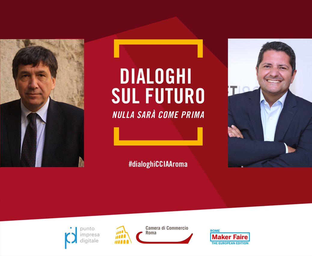 Immagine dialogo Lorenzo Tagliavanti e Marco Bentivogli
