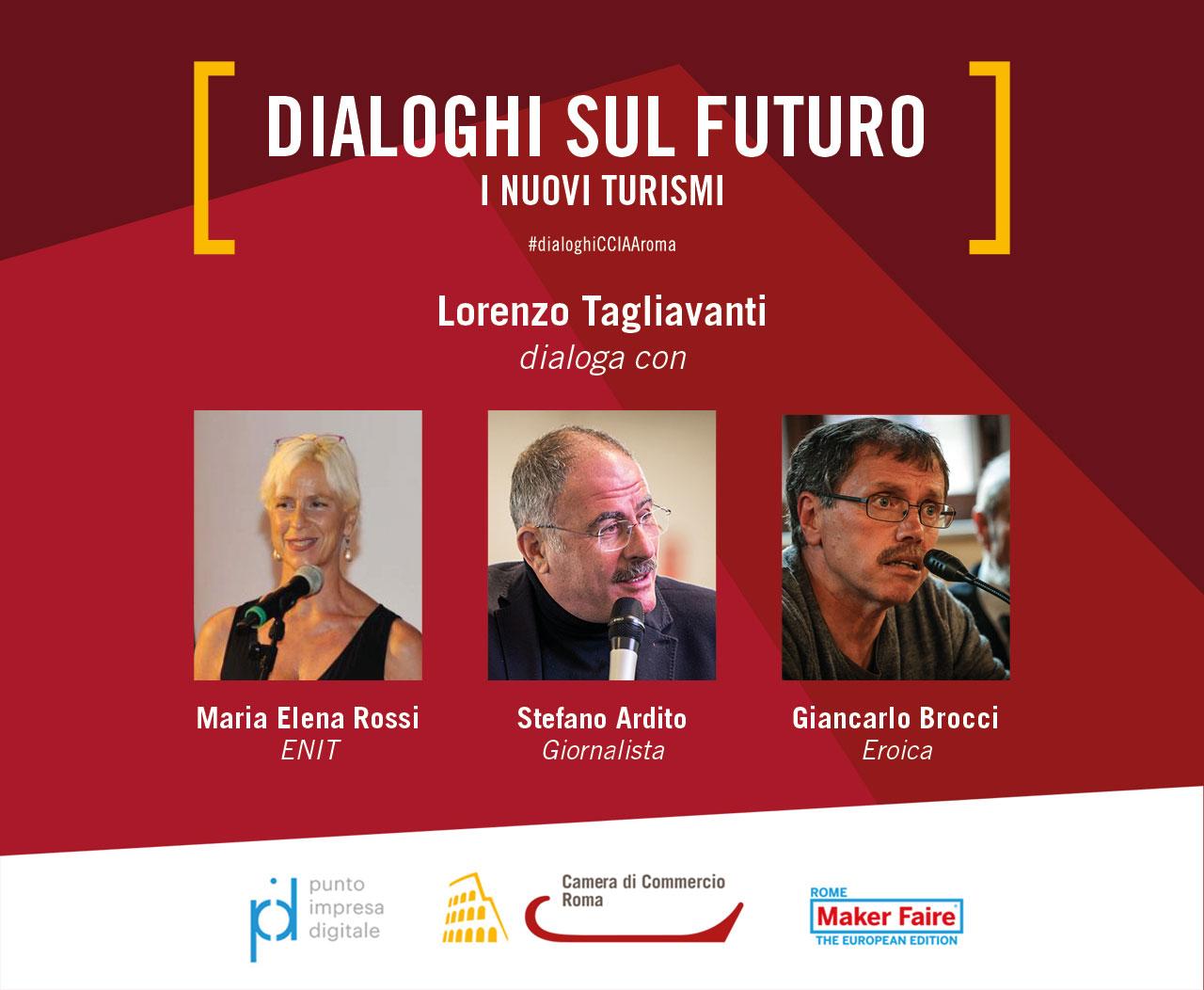 immagine dialogo con Maria Elena Rossi, Stefano Ardito e Giancarlo Brocci