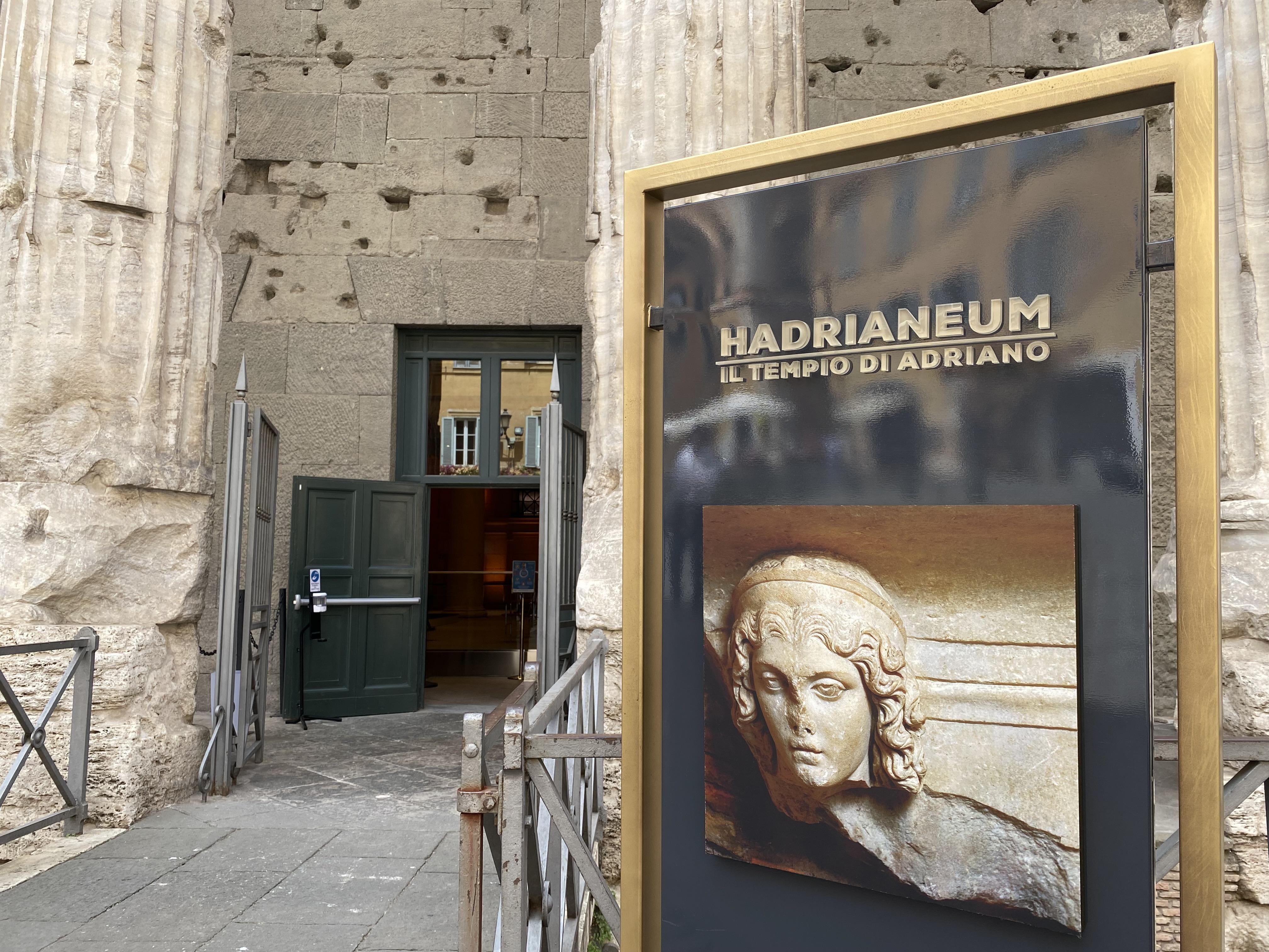 Hadrianeum, uno spettacolare viaggio nel tempo