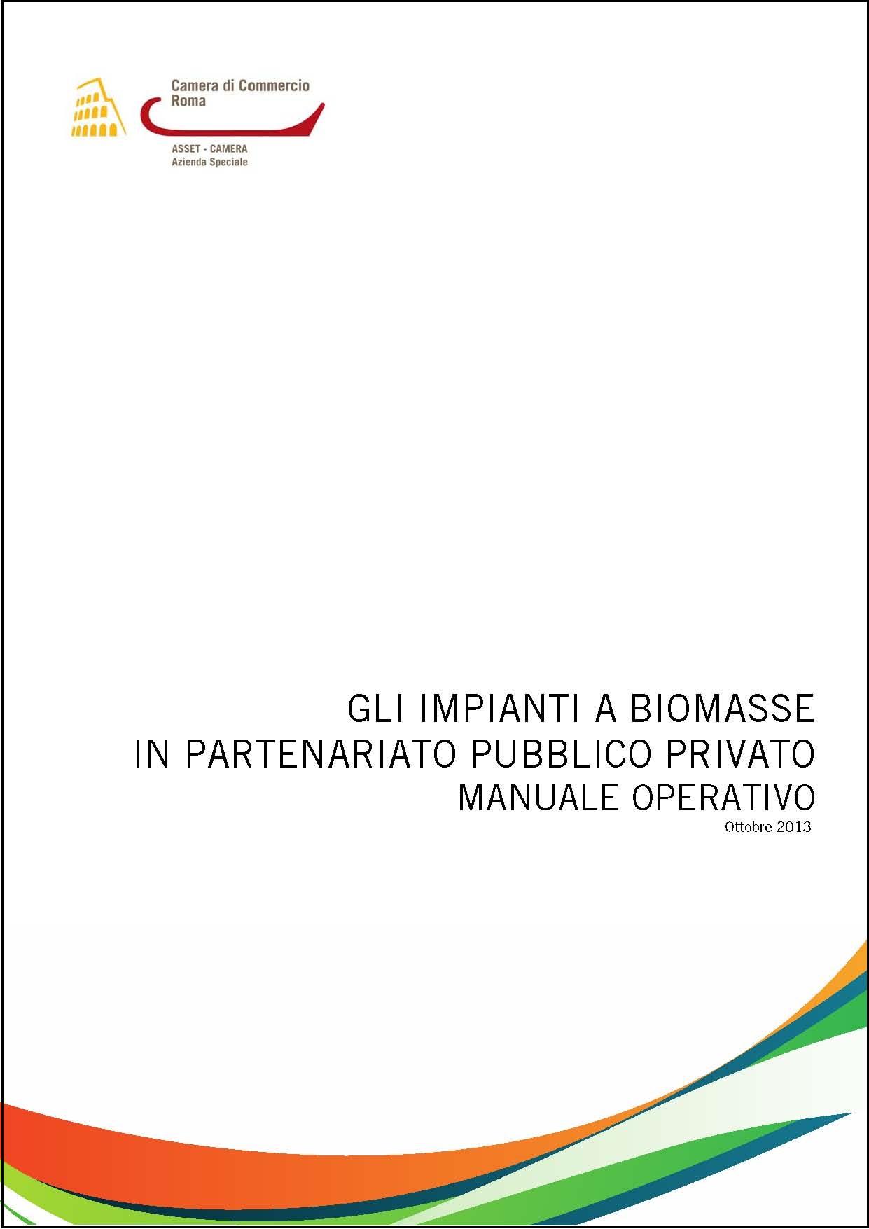 copertina manuale PPP Biomasse