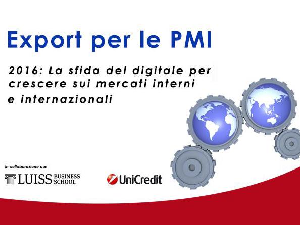 Export per PMI Irfi