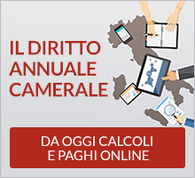 banner sito Il diritto annuale camerale