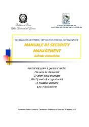 Manuale security management