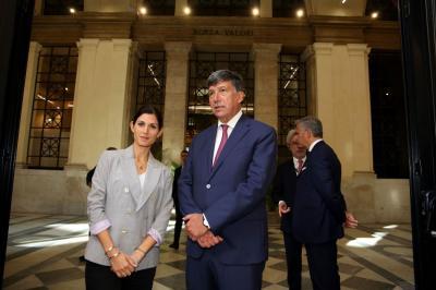 La Sindaca di Roma V.Raggi con il Presidente della CCIAA Roma L.Tagliavanti