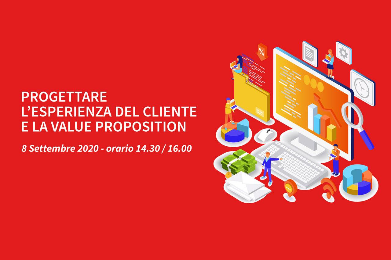 1 Webinar – Progettare l'esperienza del cliente e la Value Proposition