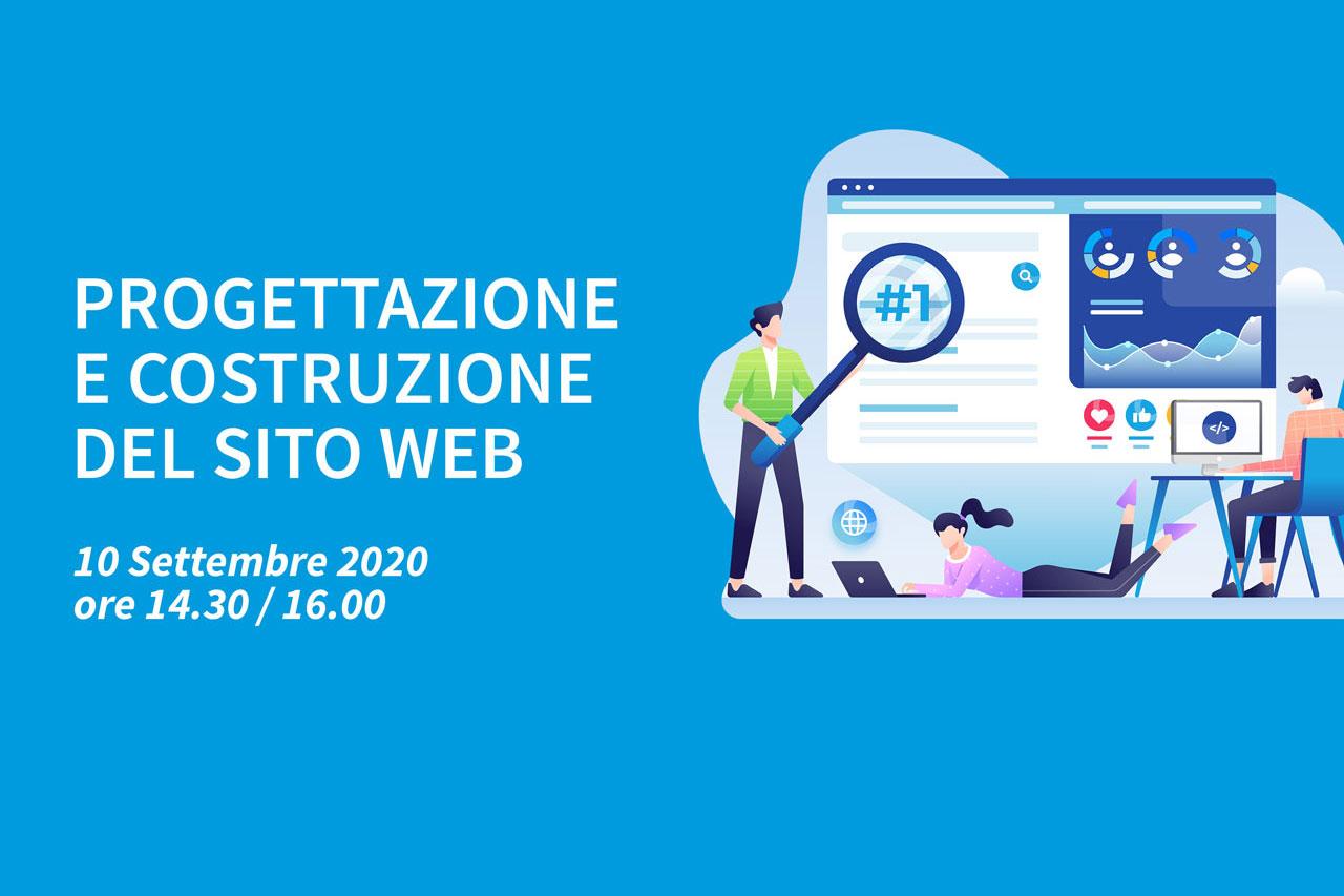 2 Webinar – Progettazione e costruzione del sito web