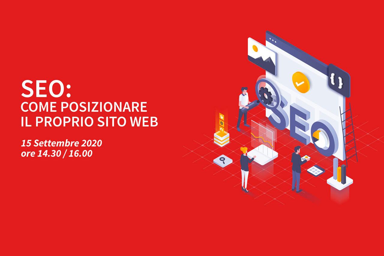 3 Webinar – SEO: come posizionare il proprio sito web