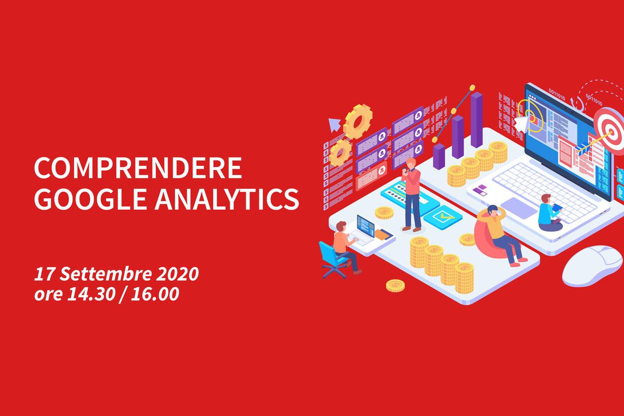 4 Webinar – Comprendere Google Analytics