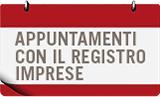 Appuntamenti con il registro imprese